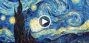 La matematica di van gogh la notte stellata rivela un for La notte stellata vincent van gogh