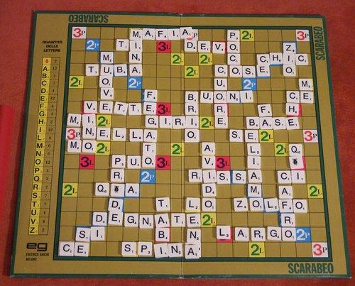Scarabeo il gioco delle parole incrociate compie 60 anni - Scarabeo gioco da tavolo ...