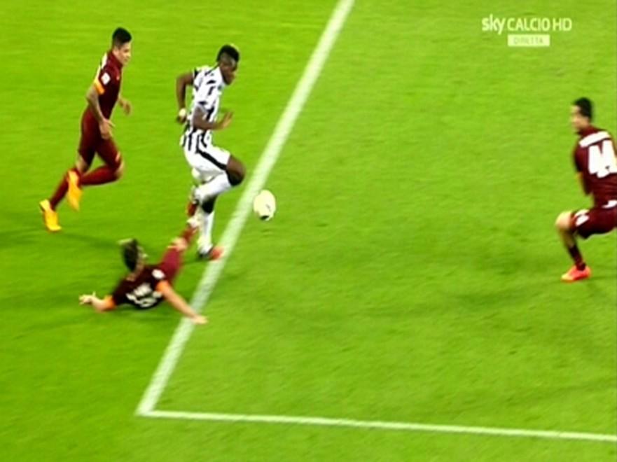 Juve roma il vero e falsato calcio è un cartone