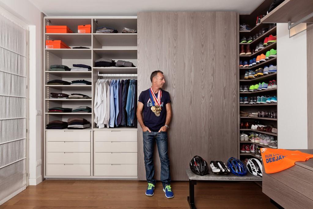 scarpe nell armadio