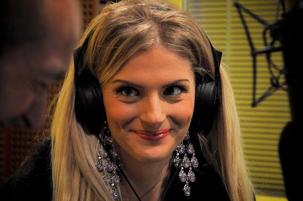 Foto Francesca Cipriani Radio Deejay