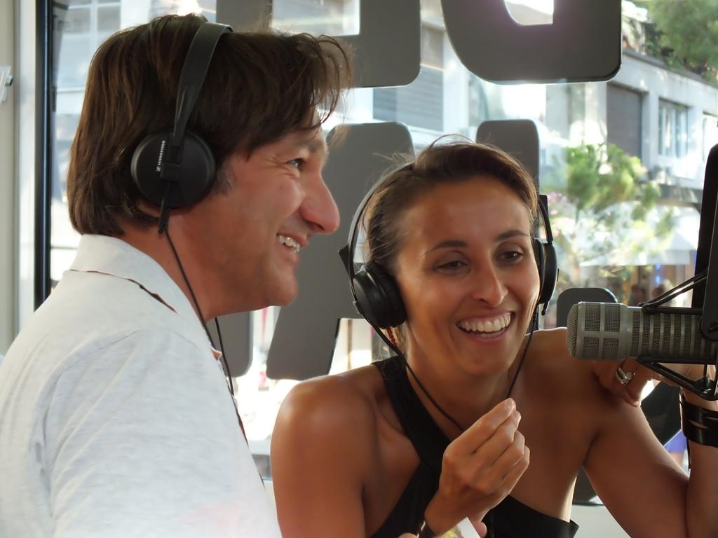 Foto Fabio Caressa e Benedetta Parodi - Radio Deejay Jared Leto