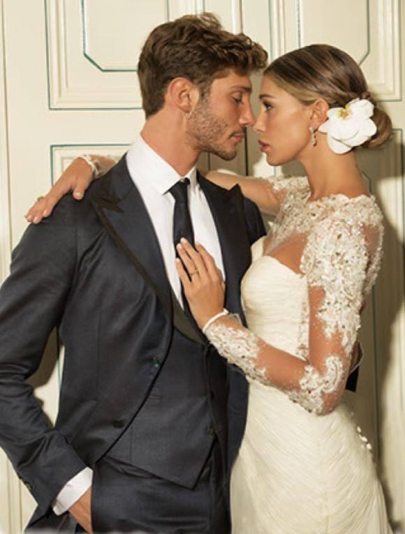Acconciatura belen matrimonio
