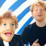 Ed Sheeran versione pupazzo lussurioso