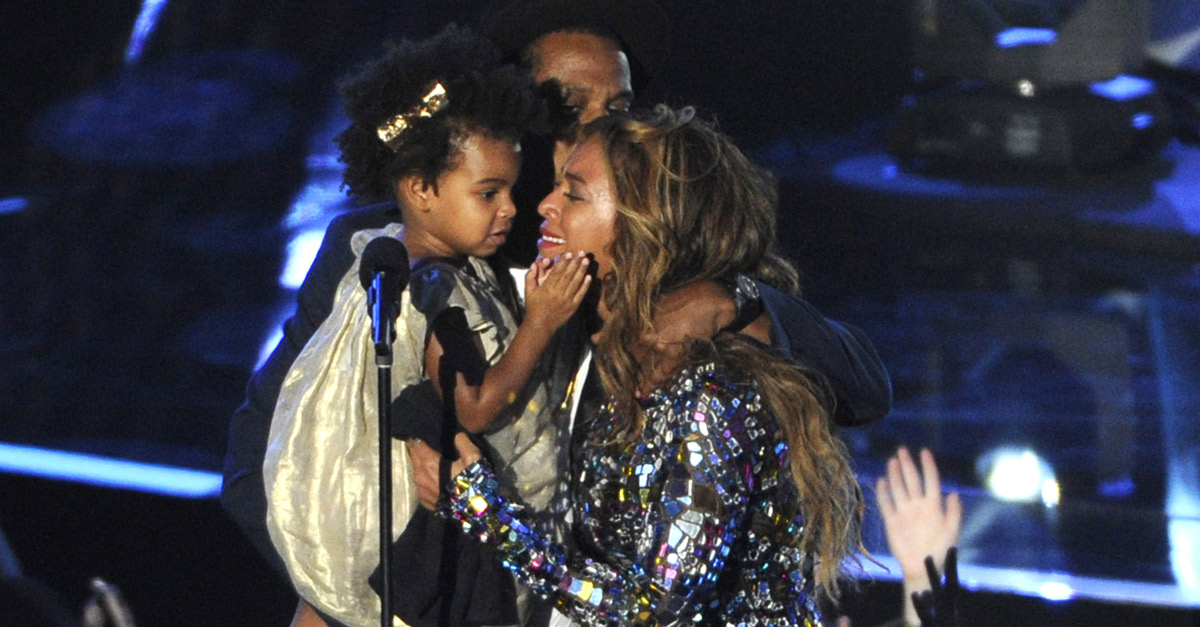 Beyoncè ai VMA: lacrime sul palco con Jay-Z e la figlia ...