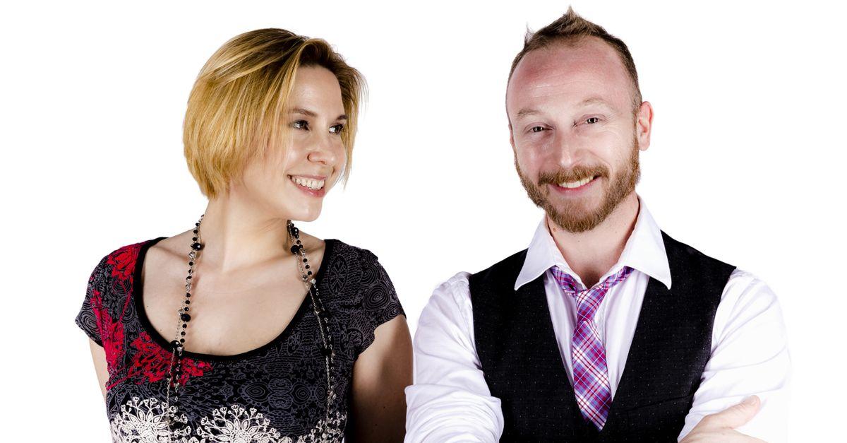 Alessandro Prisco e Stefania Salardi