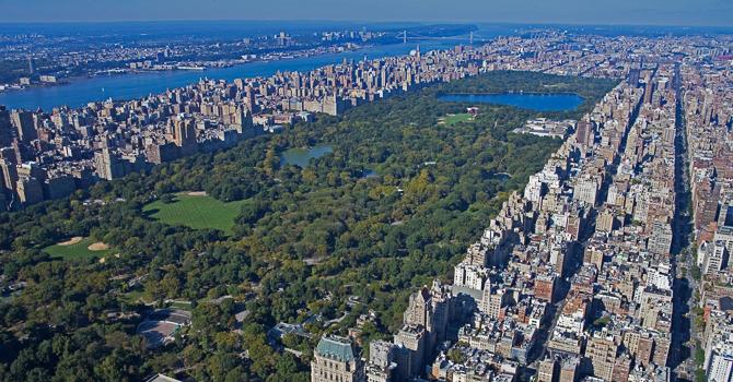 New york vista dall 39 appartamento a 400 metri d 39 altezza il for Appartamento grattacielo new york