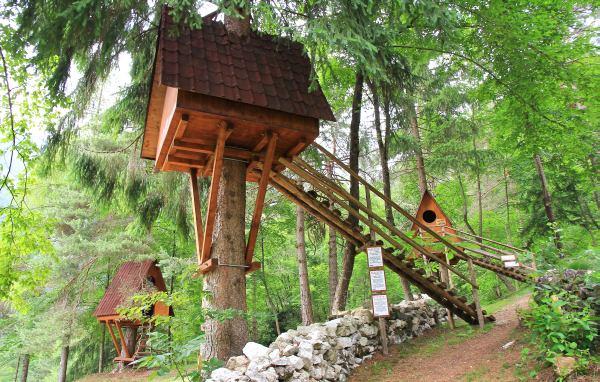 Treehouses vivere nelle case sugli alberi ipercaforum for Case in legno sugli alberi