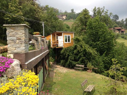 Treehouses vivere nelle case sugli alberi ipercaforum for Casa sull albero firenze