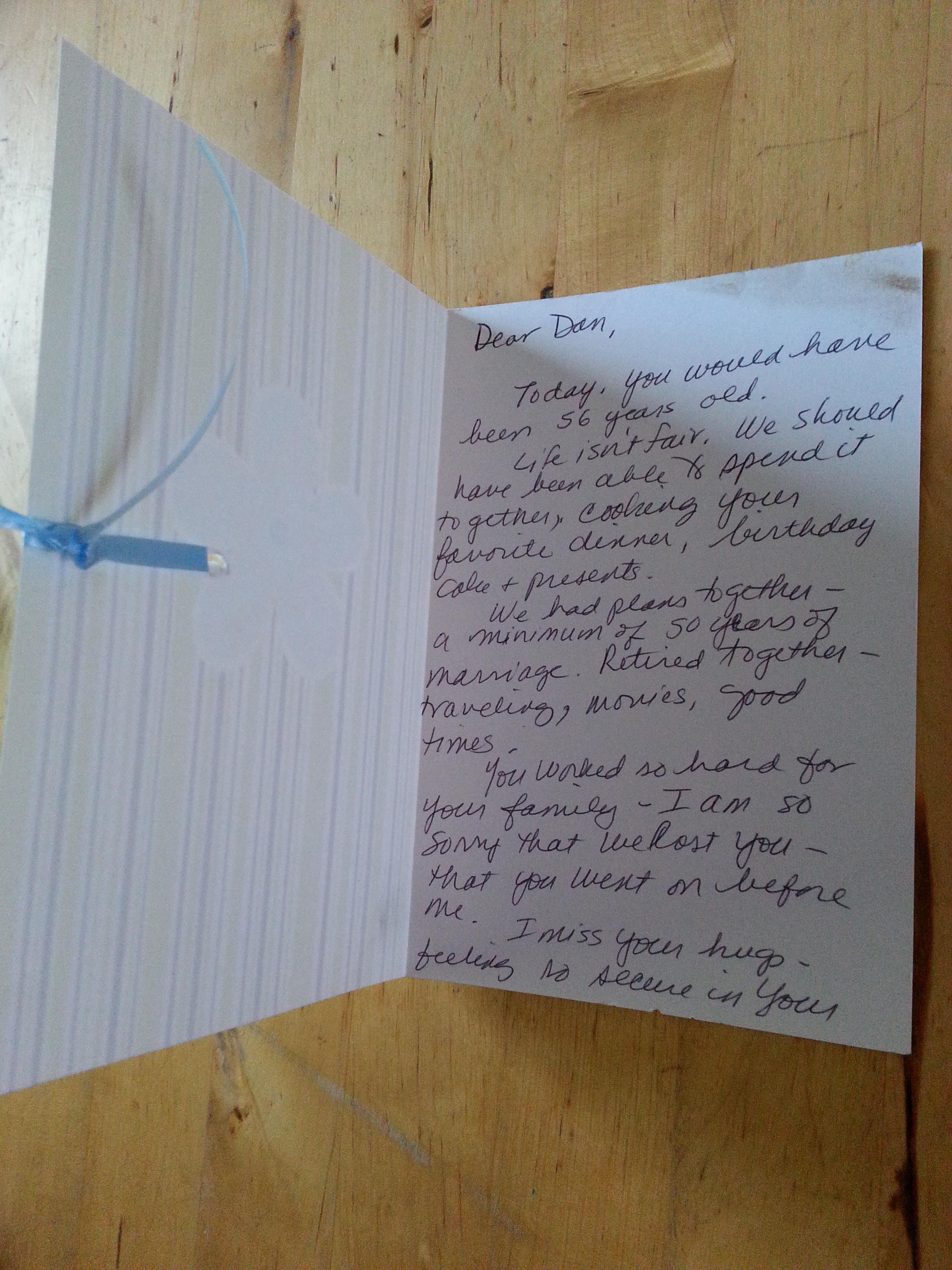 """Lettera Auguri Matrimonio : """"vorrei che tu fossi qui ancora per un giorno"""