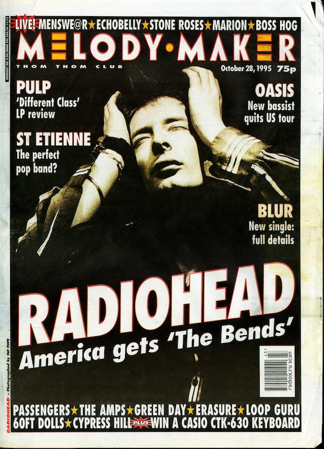 radiohead melody maker