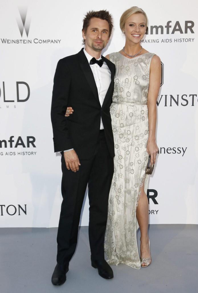 Matt Bellamy ed Elle Evans