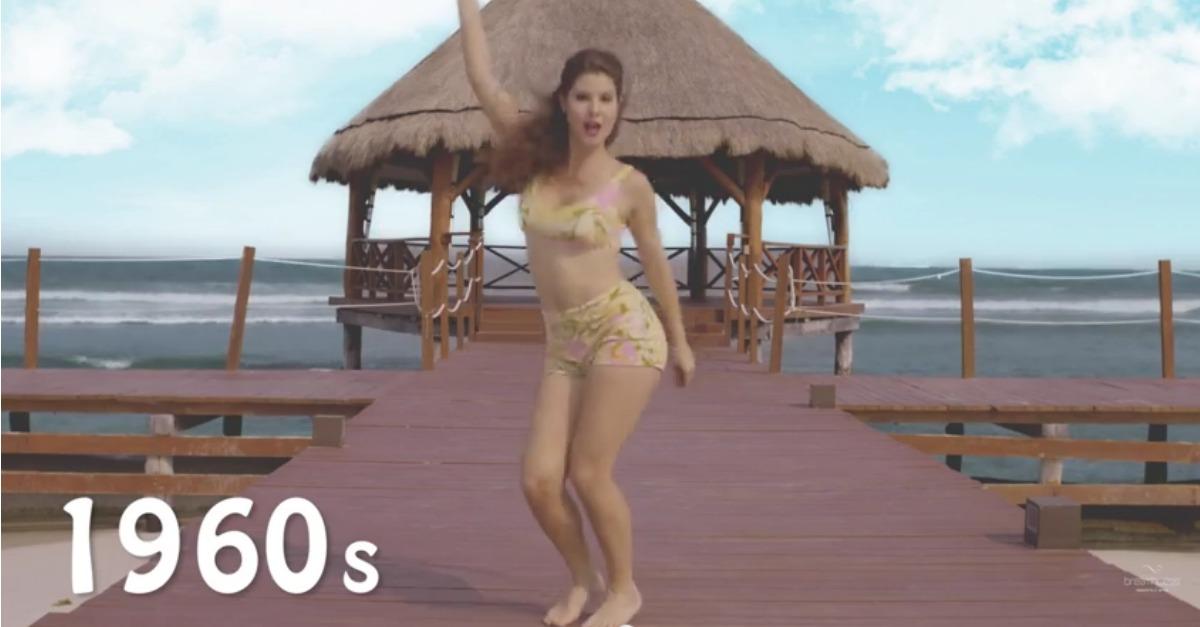Costumi Da Bagno Anni 80 : Bikini revolution anni di moda da a mare in secondi