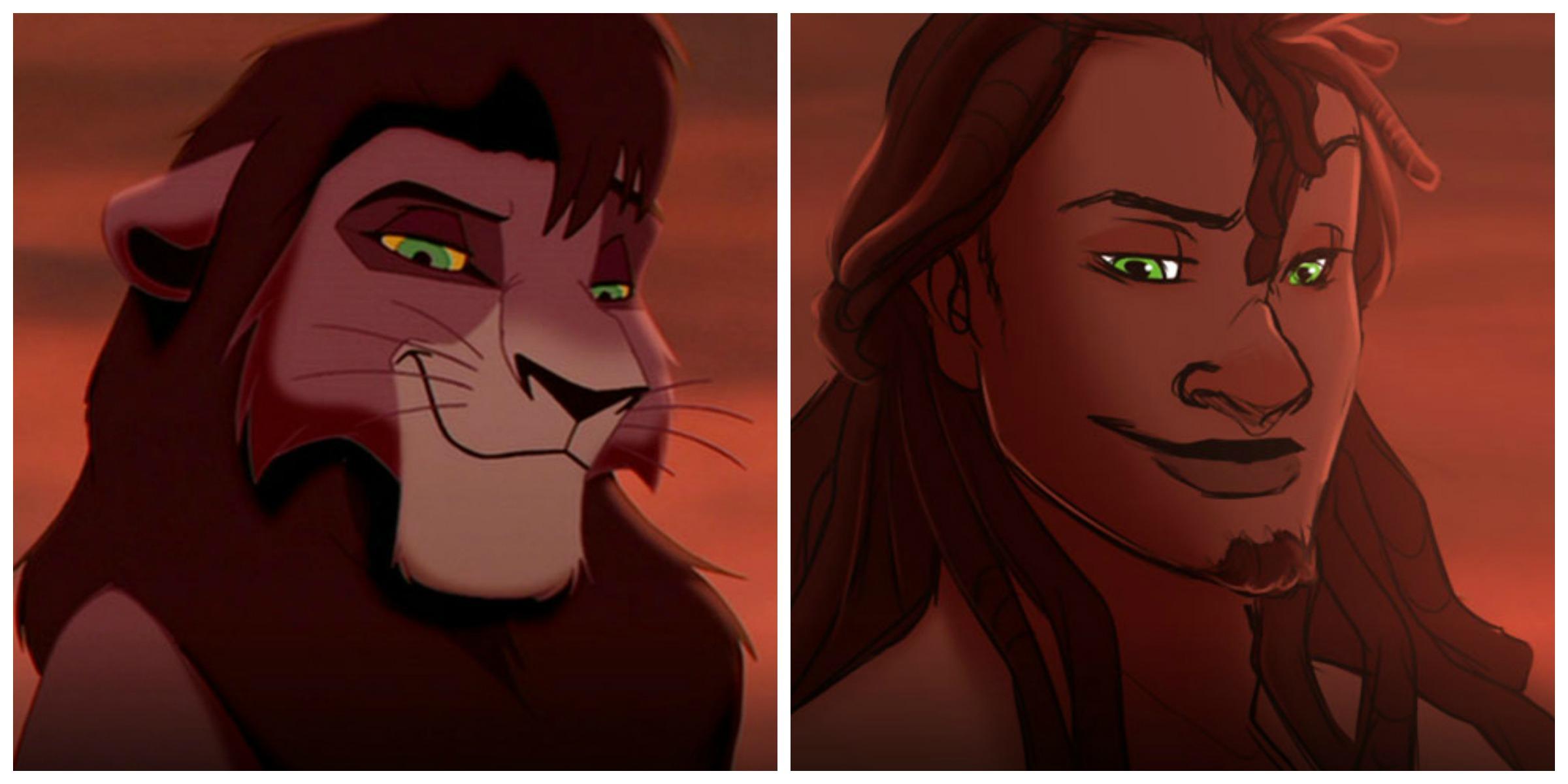 Re Leone Zazu: E Se Gli Animali Della Disney Fossero Esseri Umani