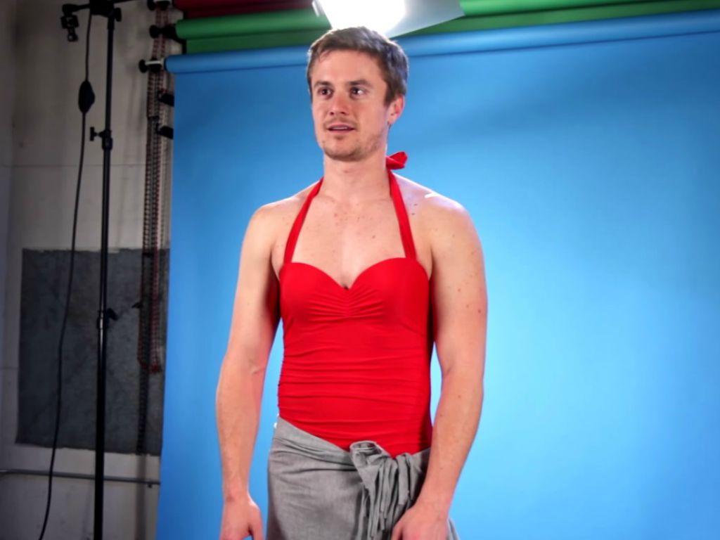 Foto se gli uomini indossassero costumi da bagno femminili radio deejay - Uomini in costume da bagno ...