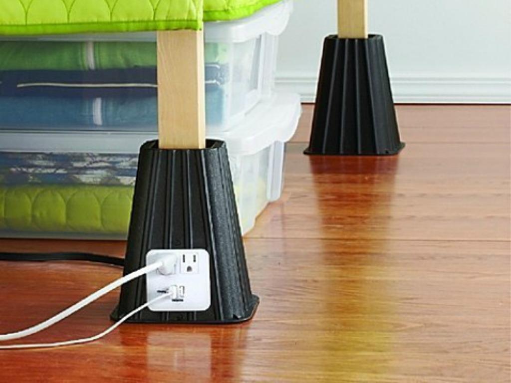 10 incredibili invenzioni per la camera da letto alle quali non potrai pi rinunciare radio deejay - Gambe del letto ...