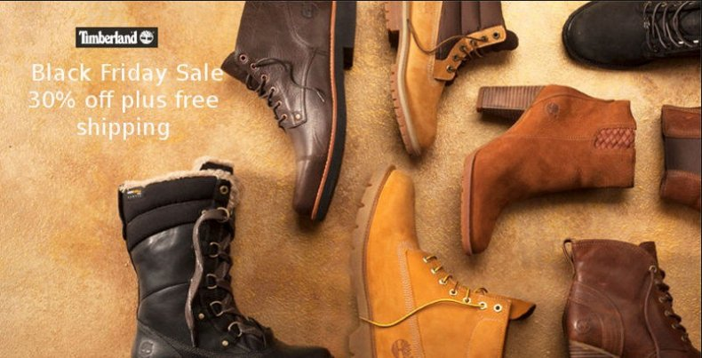scarpe timberland black friday