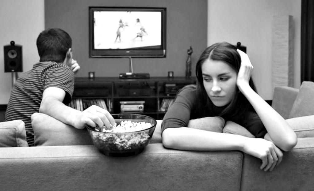 один не смотри сайт знакомств телевизор