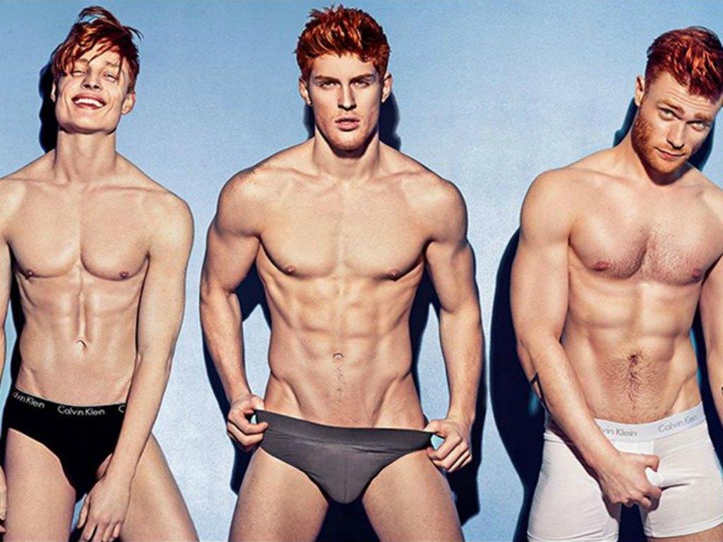 'Red Hot', il calendario con i modelli dai capelli rossi ...