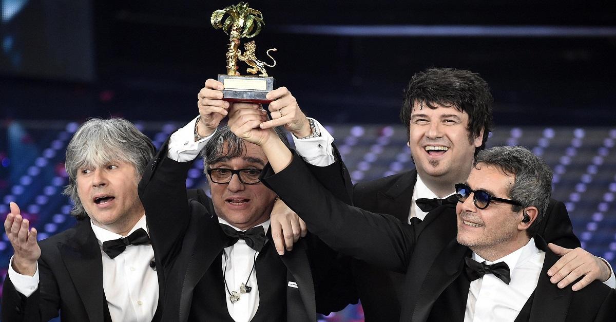 Sanremo 2016, il trionfo degli Stadio