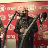 La festa di Deejay, Giuliano dei Negramaro in diretta radio
