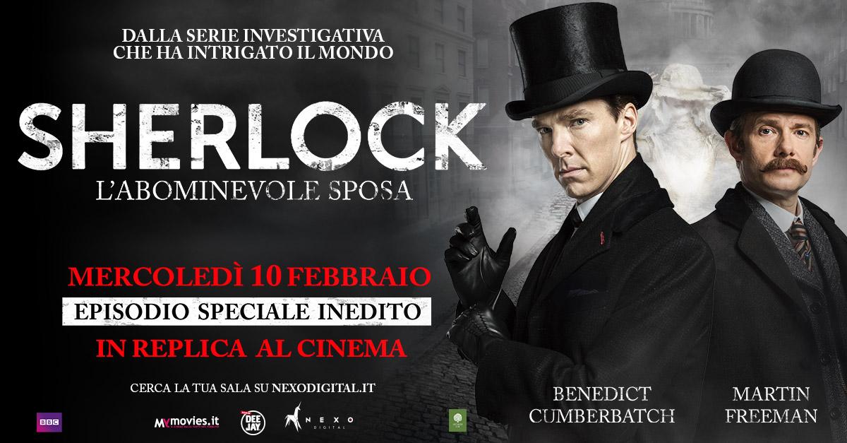 A grande richiesta dei fan, il 10 febbraio torna sul grande schermo Sherlock