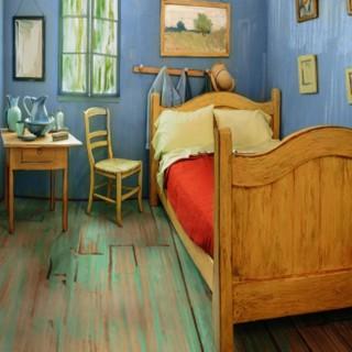 Dormire in un capolavoro di Van Gogh: la stanza-dipinto su Airbnb