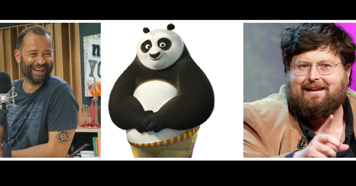 Fabio Volo VS Adinolfi: scontro acceso su 'Kung Fu Panda' e i due papà