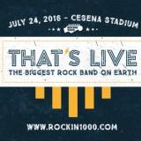 Rockin'1000, il concerto con la band più grande del mondo: a Cesena il 24 luglio