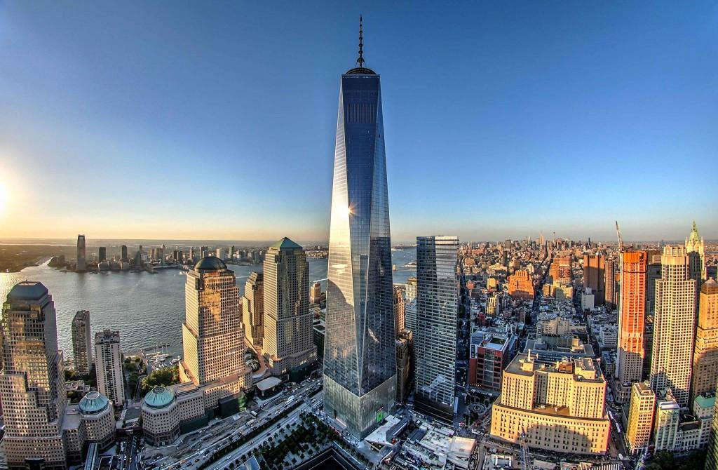 Sul tetto di new york ecco il panorama dal grattacielo for Immagini grattacieli di new york