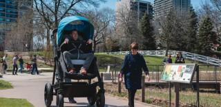 """Tornare bambini si può: arriva il """"passeggione"""""""