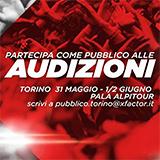 Vieni a conoscere la nuova giuria di X Factor alle Audizioni di Torino