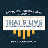 """Rockin'1000 """"That's Live"""": 1000 musicisti per un live di solo rock e ci sarà anche Nikki."""