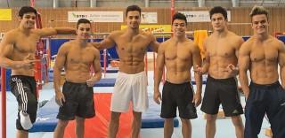 Le foto degli atleti della squadra di ginnastica artistica brasiliana sono le più hot del giorno