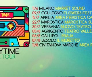 Da Milano a Jesolo, le date del Summer Tour