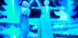 """Laura Pausini e Alessandro Cattelan diventano Elsa e cantano """"Let It Go"""" di Frozen"""