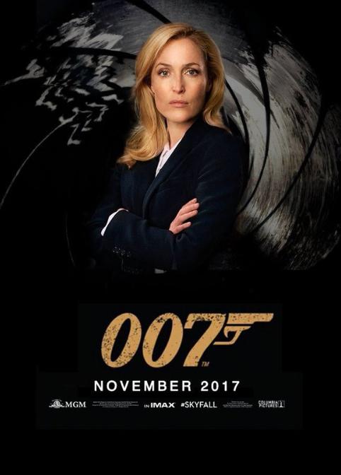 Foto La rete vuole Gillian Anderson nei panni dellu2019agente ...