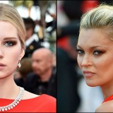 Kate e Lottie Moss, sorelle in rosso a Cannes