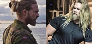 Il nuovo sexy vichingo di Instagram è un ufficiale della marina norvegese