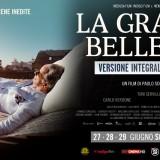 """""""La grande bellezza"""" di  Sorrentino arriva al cinema nella versione integrale"""