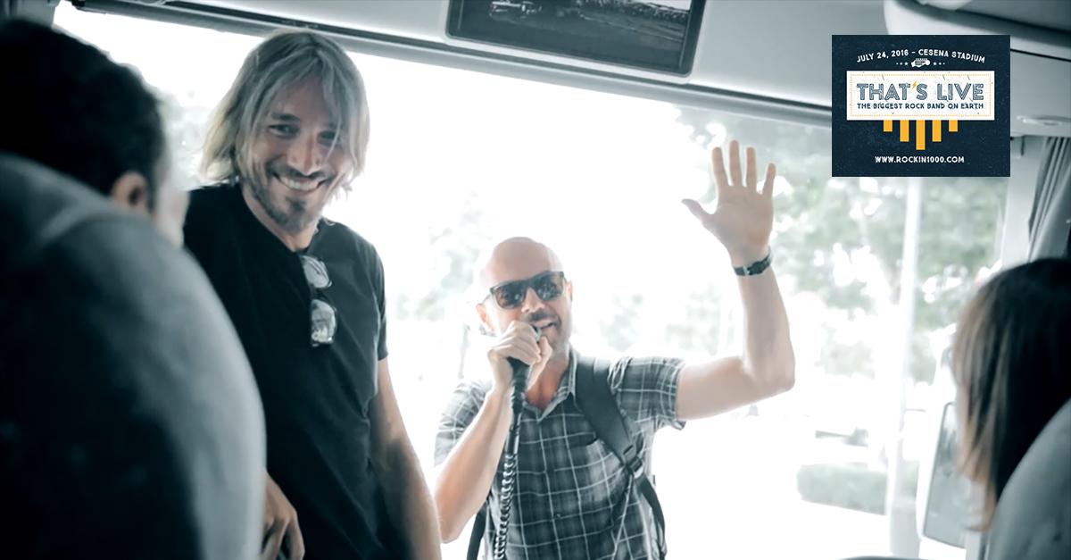 """Anche Nikki sarà a Cesena con i Rockin'1000 per il concerto """"That's Live"""""""