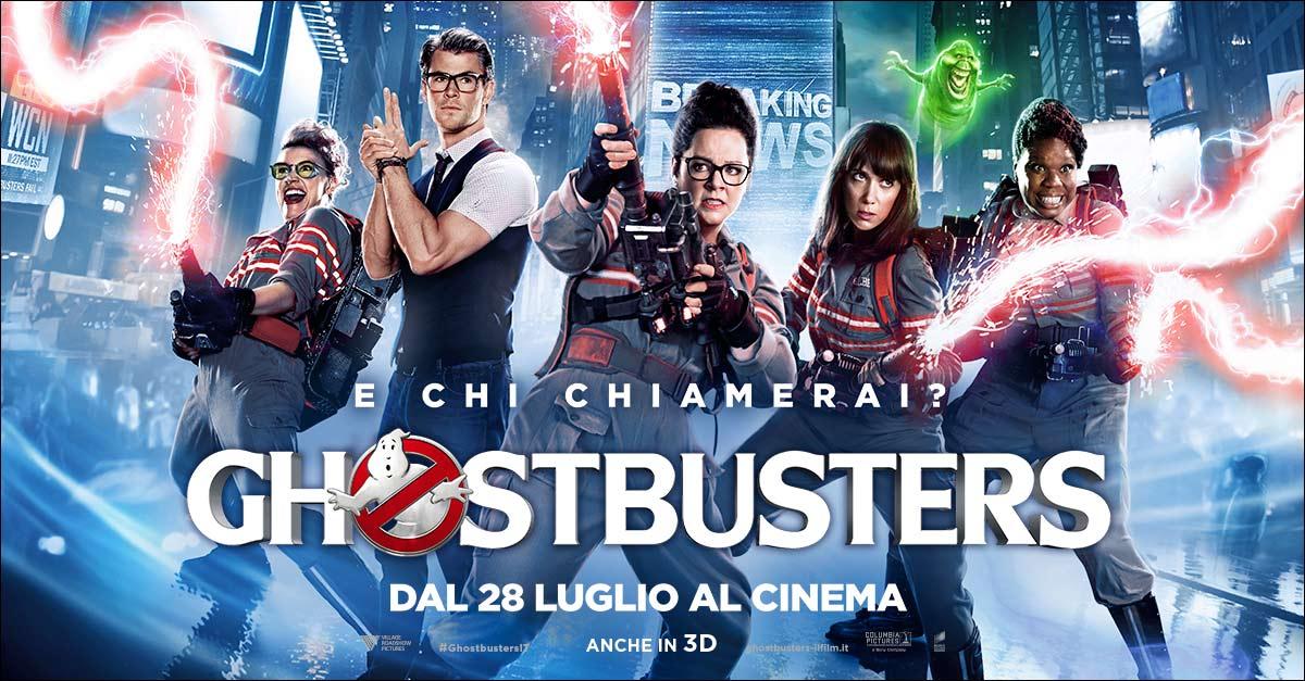 Il 28 luglio arriva  l'attesissimo reboot di Ghostbusters con un cast esilarante