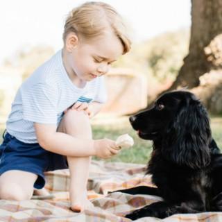 George è cresciuto e compie tre anni: le foto del compleanno del royal baby