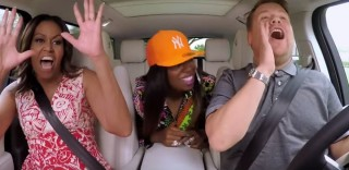Michelle Obama e Missy Elliott cantano con James Corden:  l'esilarante karaoke con la First Lady