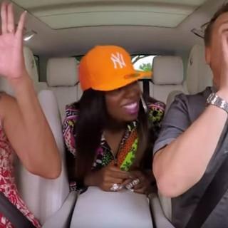 Michelle Obama e Missy Elliott con James Corden: il karaoke con la First Lady