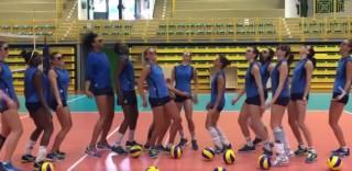 """Le azzurre della pallavolo pronte per """"andare a comandare"""" a Rio: il video parodia della hit di Fabio Rovazzi"""