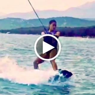Fenomeno wakeboard: dalla principiante Melissa Satta alle acrobazie dei pro