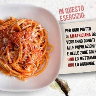 L'iniziativa del food blogger: donare due euro per ogni piatto di amatriciana
