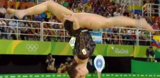 Rio 2016: Erika Fasana sfida la gravità, il suo capolavoro fa il giro del mondo