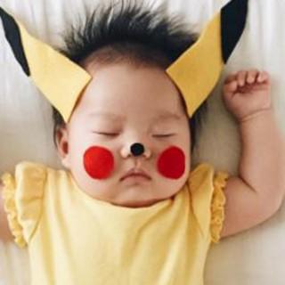 Pikachu, Slash, Sirenetta... I dolcissimi scatti della neonata cosplayer